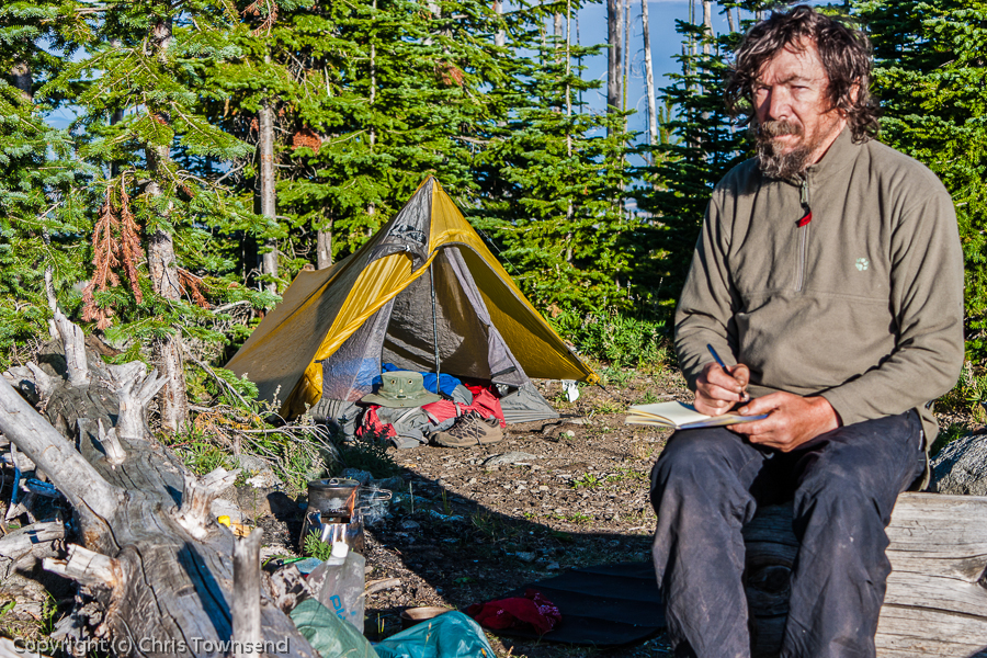 Camping on the Kettle Crest on the Pacific Northwest Trail