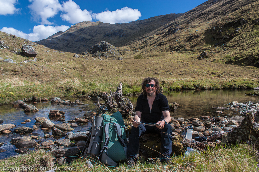 In the Western Highlands on the TGO Challenge