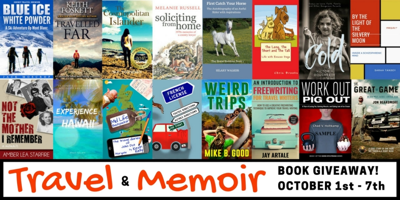 Latest Free Travel & Adventure Book Promotion Until October