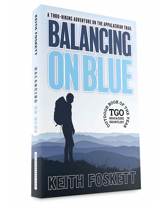 Balancing On Blue Bookcover