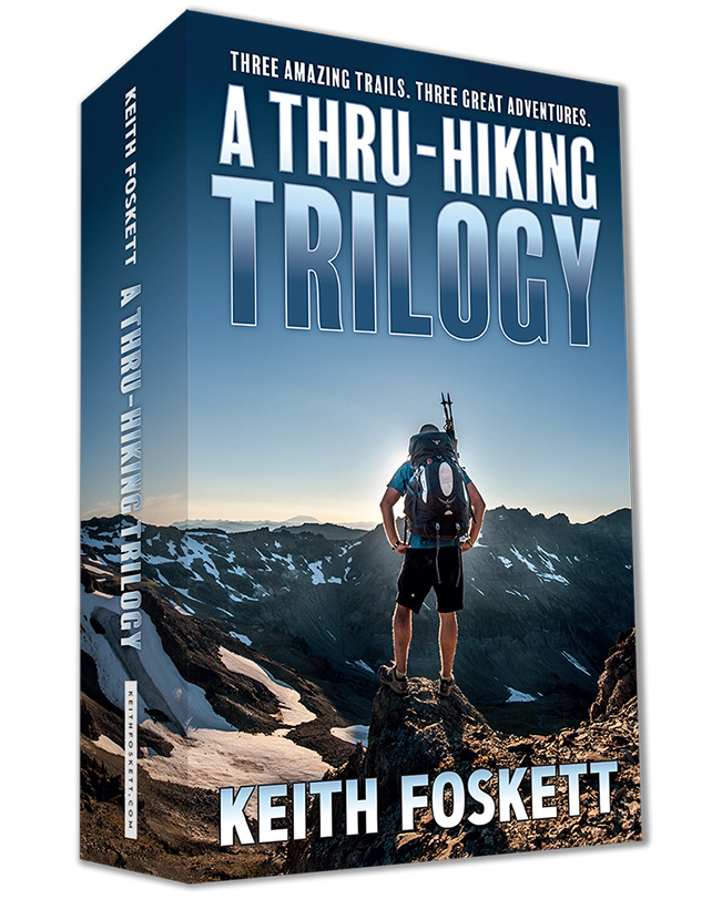 A Through Hiking Trilogy Book Cover - SPECIAL MOCKUP